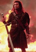 Mel Gibson in: Braveheart
