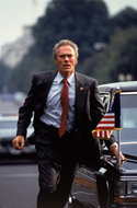 Clint Eastwood in: In The Line Of Fire