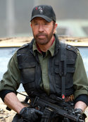 Chuck Norris in: The Expendables 2